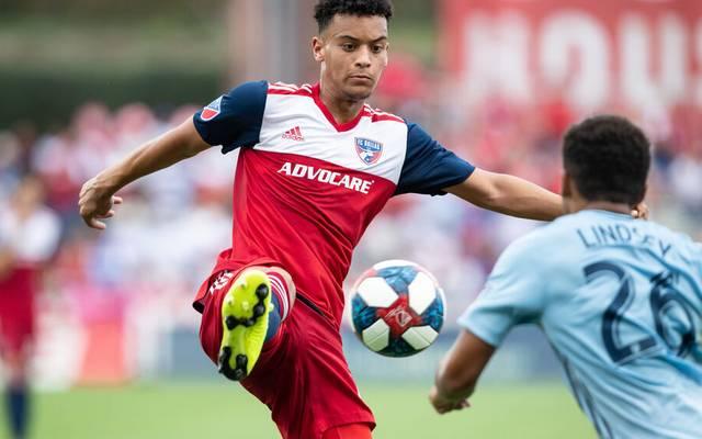 Brandon Servania erzielte für den FC Dallas in bislang  33 Spielen drei Tore