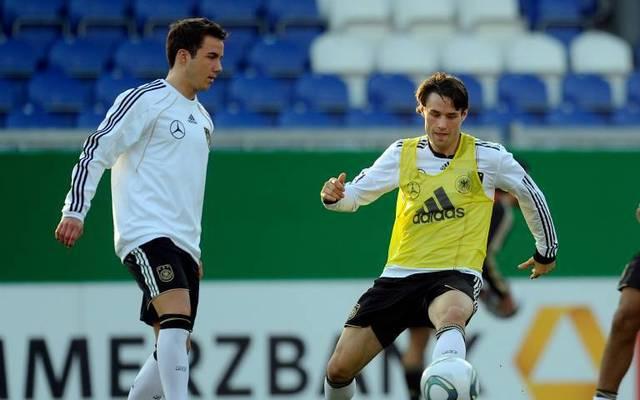 Christian Träsch (r.) spielte zehn Mal für Deutschland