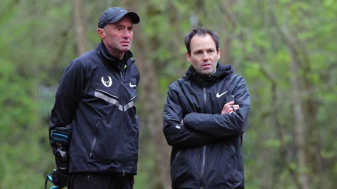 Pete Julian (r.) war mit Alberto Salazar für das Nike Oregon Projekt verantwortlich