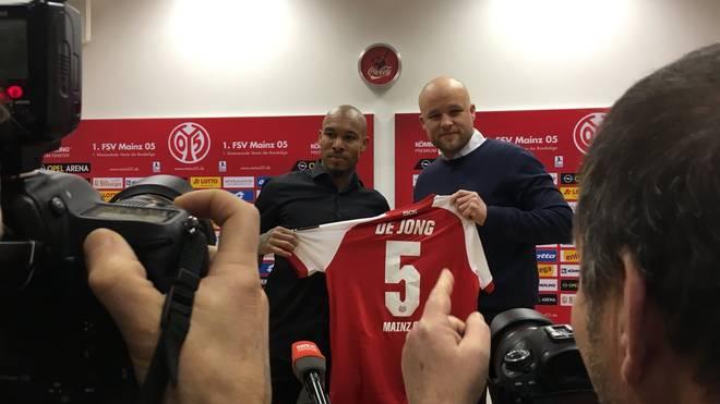 Mainz stellte Nigel de Jong am Sonntag vor
