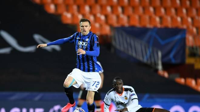 Josip Ilicic erzielte gegen den FC Valencia einen Viererpack