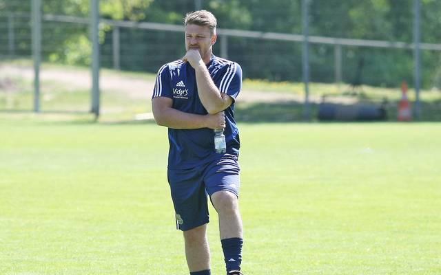 Lukas Kwasniok trainiert den 1. FC Saarbrücken