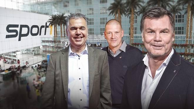 Andreas Retting und Christian Ziege werden am Sonntag zu Gast bei Thomas Helmer im CHECK24 Doppelpass sein