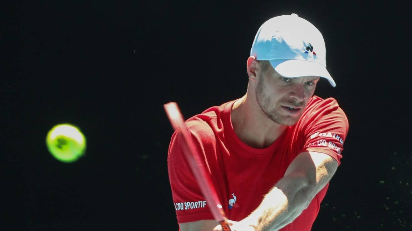 Yannick Hanfmann scheiterte in Singapur im Achtelfinale an Radu Albot