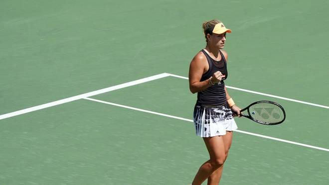 Angelique Kerber steht beim WTA-Turnier von Osaka im Halbfinale