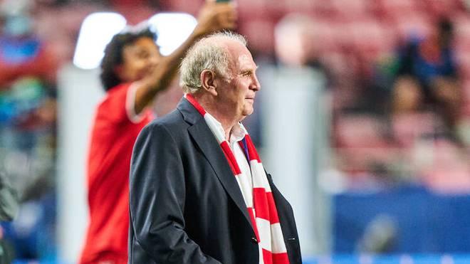 Uli Hoeneß war beim Champions-League-Titel der Bayern mit dabei