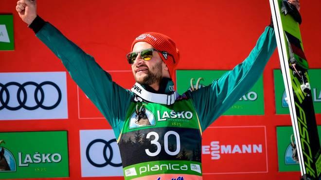 Markus Eisenbichler gewann im letzten Winter drei Mal WM-Gold