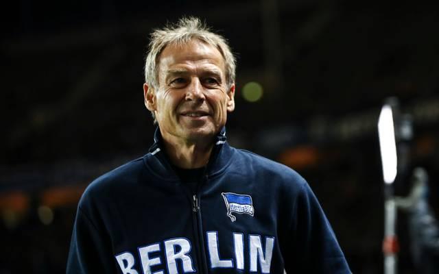 Jürgen Klinsmann war nur rund zehn Wochen Trainer bei Hertha BSC