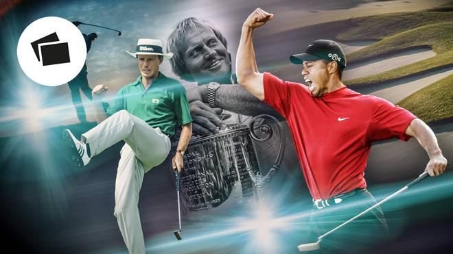 Bernhard Langer (l.) gehört zu den besten Golfern aller Zeiten