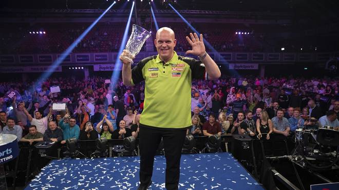 Michael van Gerwen hat den World Grand Prix gewonnen