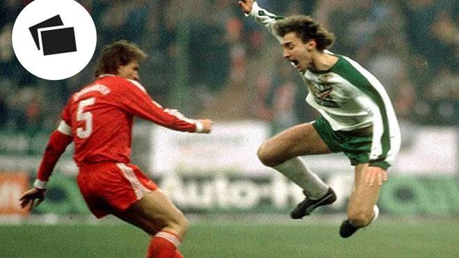 Dieses Foul von Klaus Augenthaler an Rudi Völler begründete die große Rivalität zwischen Bayern und Werder