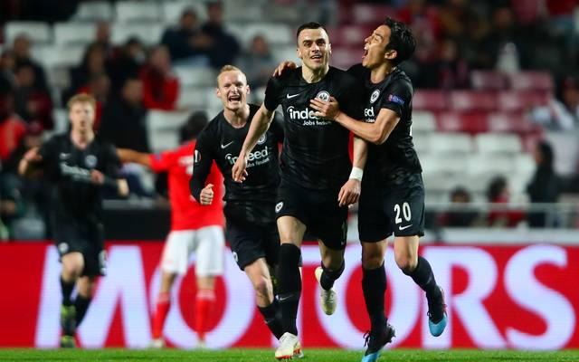 Eintracht Frankfurt schaffte 2019 es in der Europa League bis ins Halbfinale