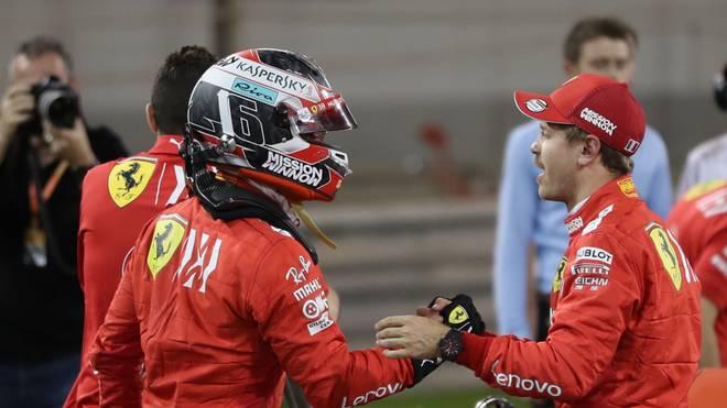 Ferrari, Leclerc, Vettel