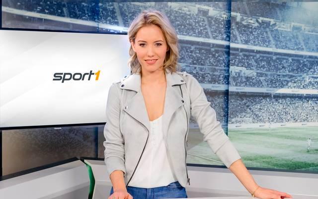 Laura Papendick moderiert unter anderem Bundesliga Aktuell auf SPORT1