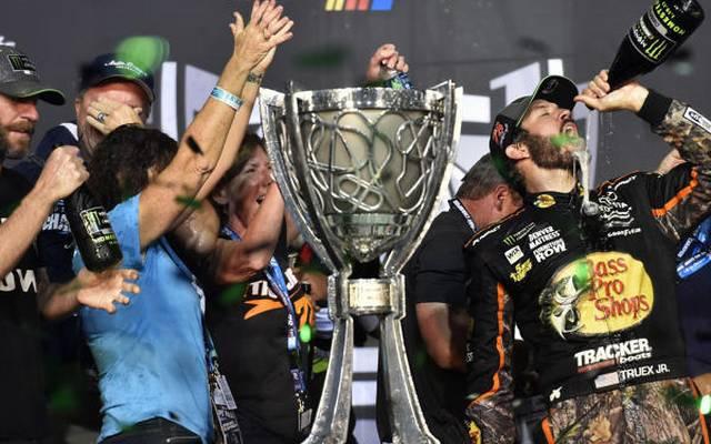 Martin Truex Jr. führte in der NASCAR-Saison 2017 alle vor
