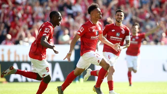 Bundesliga: FSV Mainz 05 - Fortuna Düsseldorf 3:1 - Mainz mit Klassenerhalt