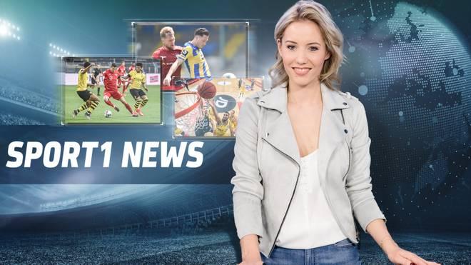 Laura Papendick moderiert die SPORT1 News