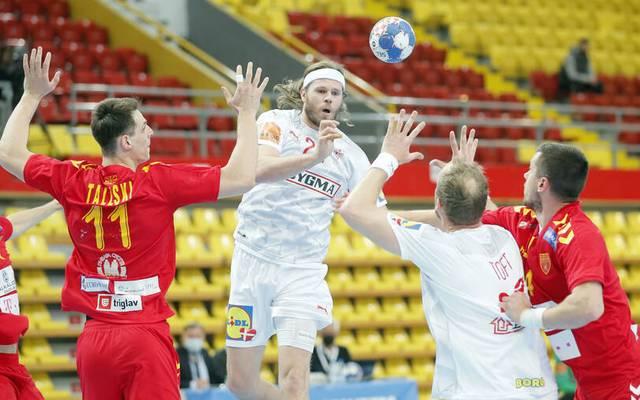 Mikkel Hansen (M.) wurde mit Dänemark 2021 Handball-Weltmeister