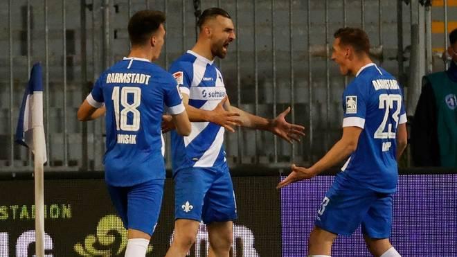 Darmstadt gewinnt mit 2:1 gegen Hannover