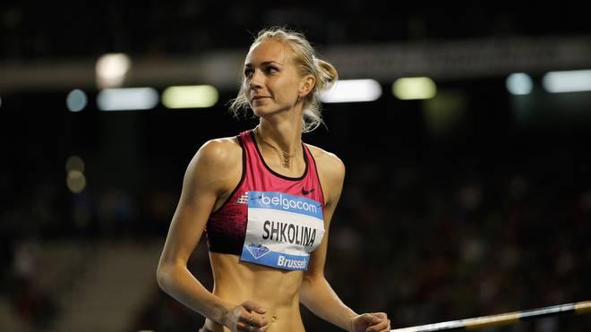 Leichtathletik: Russische Leichtathleten bleiben gesperrt, Die Russin Swetlana Schkolina ist Weltmeisterin im Hochsprung