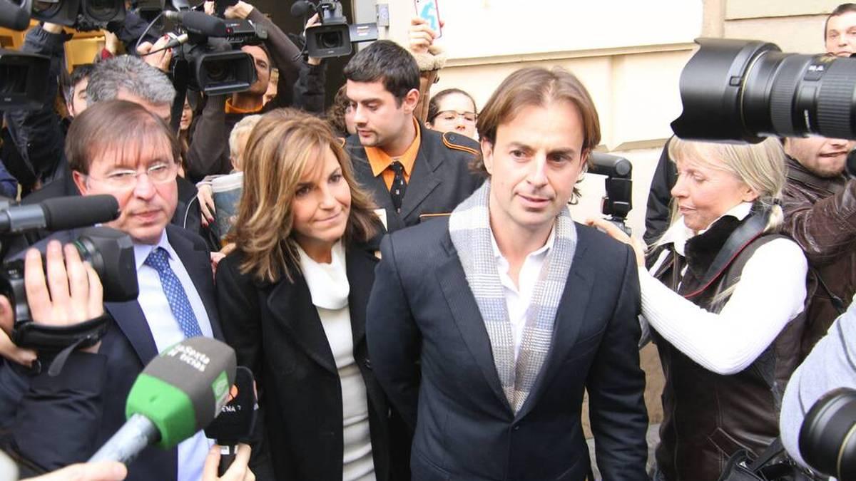 Arantxa Sánchez Vicario und ihr zweiter Mann Josep gerieten mehrfach ins Visier der Justiz