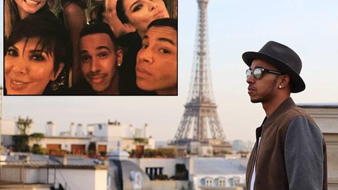 Lewis Hamilton genießt die Vorzüge von Paris.