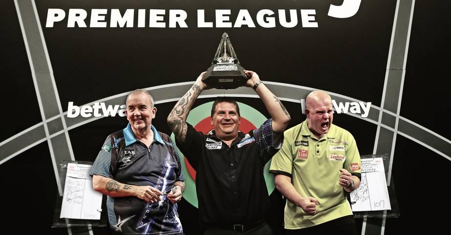Nach der WM und dem Masters ist vor der Premier League Darts: Bis zum 19. Mai spielen die zehn besten Spieler der Welt um den zweitwichtigsten Titel des Darts-Kalenders. SPORT1 stellt die Teilnehmer vor
