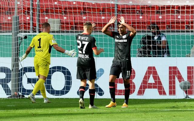Bayer Leverkusen siegt ohne Probleme gegen Regionalligisten Eintracht Norderstedt