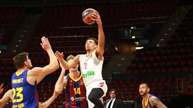 Die Basketballer von Bayern München gewannen gegen den FC Barcelona in der EuroLeague - auch dank Wade Baldwin