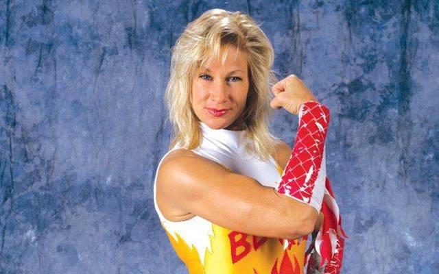 Alundra Blayze war zwischen 1993 und 1995 der größte weibliche Star bei WWE