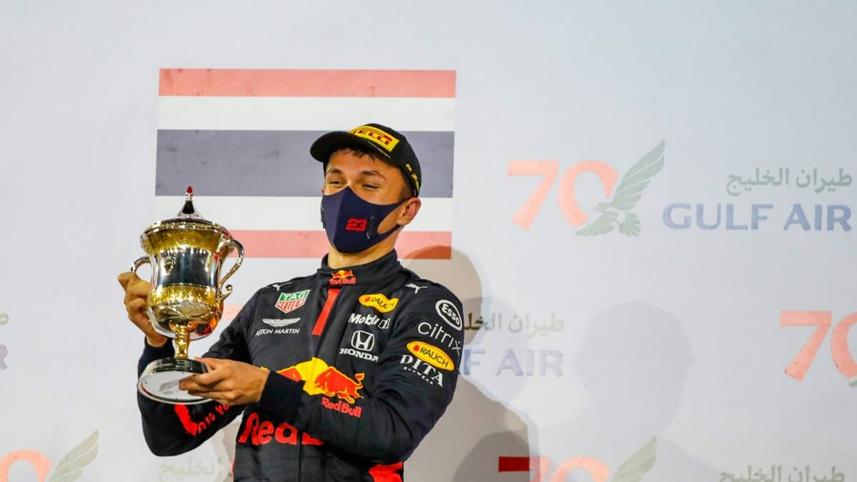 Alexander Albon fuhr zwei Jahre lang in der Formel 1