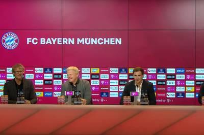Leon Goretzka bleibt dem FC Bayern weiter treu. Der Mittelfeldspieler spricht über die Beweggründe, auch Kahn und Salihamidzic äußern sich. Die Pressekonferenz im LIVETICKER.