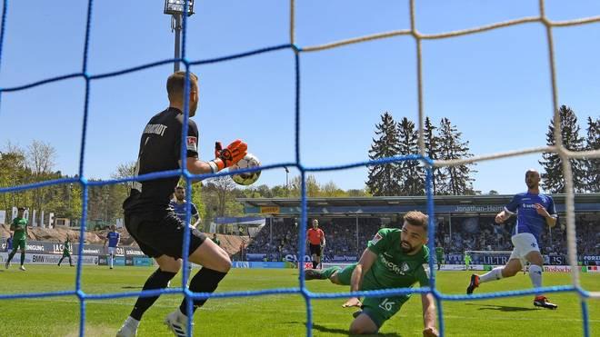 Lukas Hinterseer vergab in Darmstadt zwei gute Chancen für den VfL Bochum