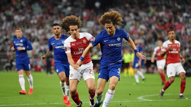 David Luiz spielt in den nächsten Jahren beim FC Arsenal