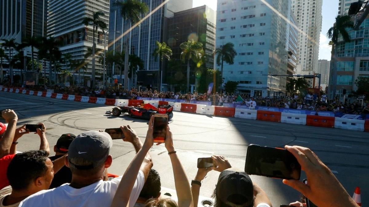 Miami: Formel-1-Rennen findet im Mai statt