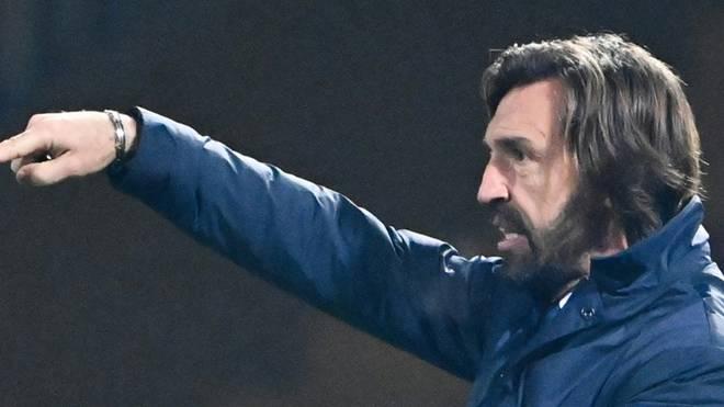 Trainer Andrea Pirlo gerät bei Juventus Turin unter Druck