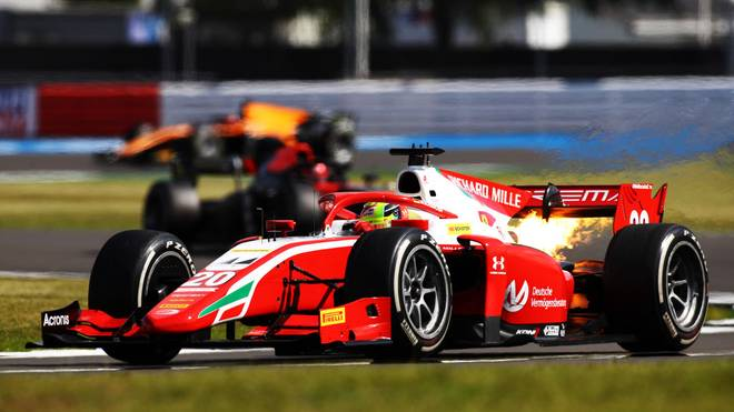 Mick Schumacher wurde in Silverstone lediglich 14.