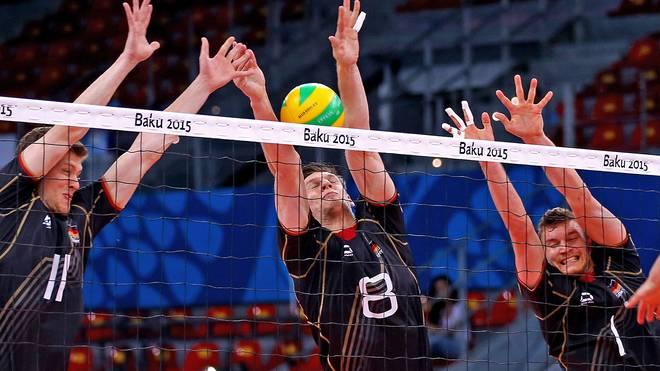 Die deutschen Volleyballer unterliegen Russland im Testspiel