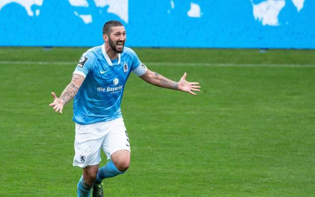 Sascha Mölders und die Löwen stehen an der Spitze der 3. Liga