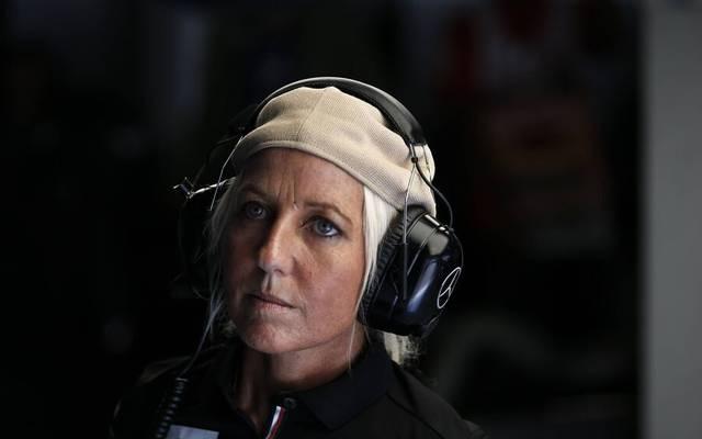 Angela Cullen ist eine wichtige Vertrauensperson von Lewis Hamilton