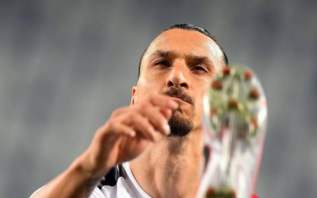 Immer noch (tor-)gefährlich: Zlatan Ibrahimovic