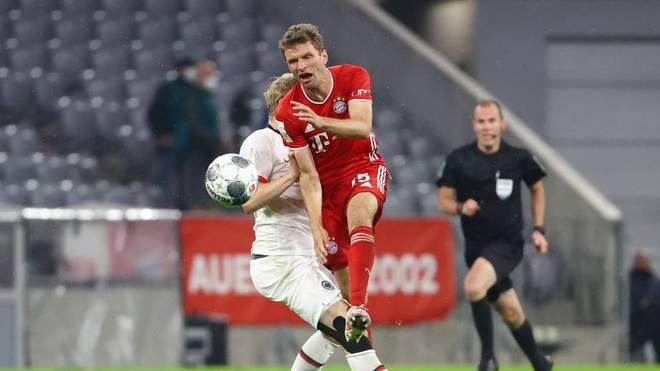 Thomas Müller steht mit dem FC Bayern im Finale des DFB Pokals