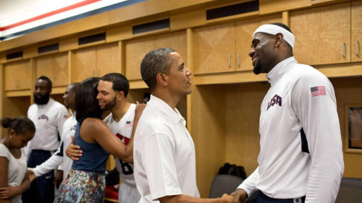 LeBron James und Barack Obama kennen sich schon länger