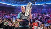 Rob Cross krönte seine überragende Saison 2017 mit dem WM-Titel im legendären Alexandra Palace