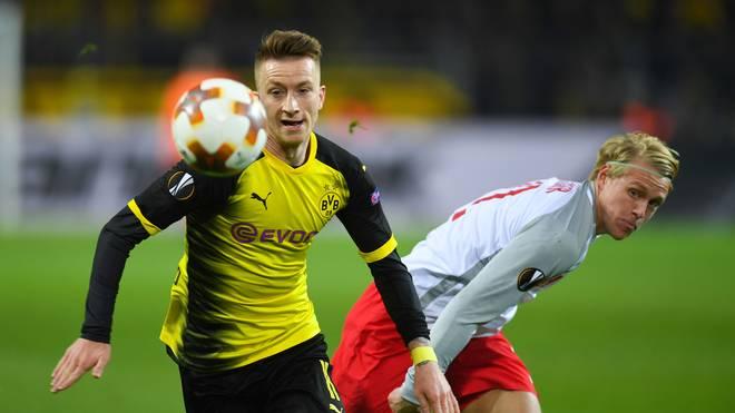 Marco Reus braucht mit dem BVB in Salzburg einen Sieg für den Einzug ins Viertelfinale