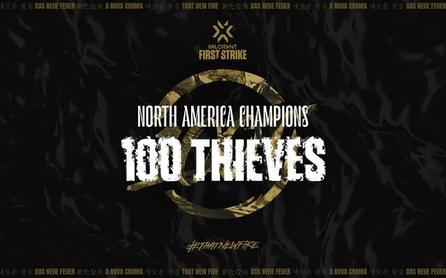 Valorant: 100 Thieves gewinnen First Strike: Nordamerika