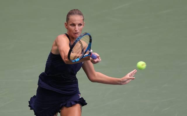 Karolina Pliskova scheidet bei den US Open in Runde zwei aus