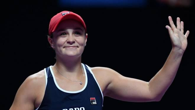 Ashleigh Barty steht im Halbfinale der WTA-Finals