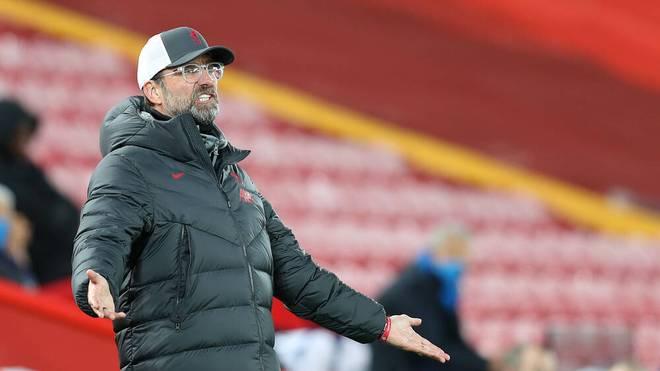 Jürgen Klopp sah einen schwachen Auftritt seines FC Liverpools gegen Atalanta Bergamo