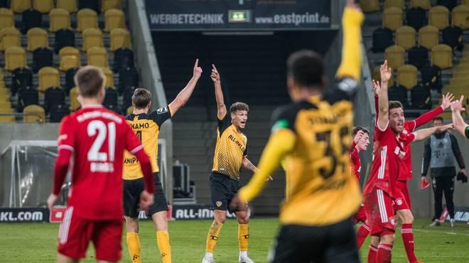 Dynamo Dresden verspielt einen Sieg gegen den FC Bayern